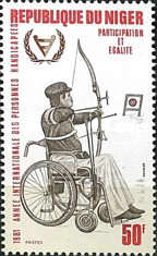 [International Year of Disabled People, Typ ZF]