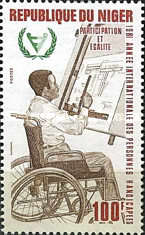 [International Year of Disabled People, Typ ZG]
