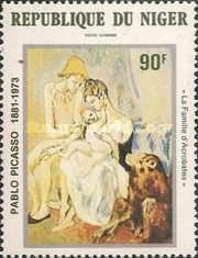 [Airmail - The 100th Anniversary of the Birth of Pablo Picasso, Artist, 1881-1973, Typ ZK]