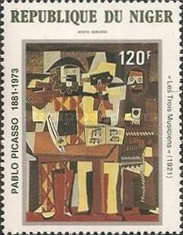 [Airmail - The 100th Anniversary of the Birth of Pablo Picasso, Artist, 1881-1973, Typ ZL]