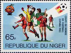 [Football World Cup - Spain 1982, Typ ZY]