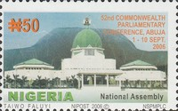 [The 52nd Commonwealth Parliamentary Conference - Abuja, type AAV]