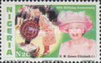 [The 80th Anniversary of the Birth of Queen Elizabeth II, type AAW]