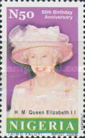 [The 80th Anniversary of the Birth of Queen Elizabeth II, type AAX]