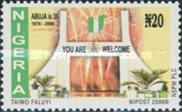 [The 30th Anniversary of the City of Abuja, type AAY]