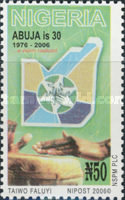 [The 30th Anniversary of the City of Abuja, type AAZ]