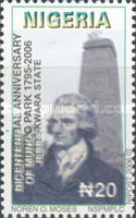 [The 200th Anniversary (2006) of the Death of Mungo Park, 1771-1806, type ABB]