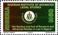 [The 30th Anniversary of the Nigerian Institute of Legal Studies, type ABV]