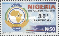 [The 30th Anniversary of PAPU - Pan American Postal Union, type ACA]