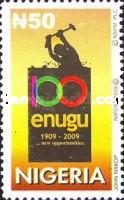 [The 100th Anniversary (2009) of Enugu State University, type ACX]