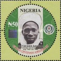 [The 100th Anniversary of Nigeria - Presidents, type ADJ]