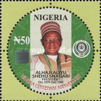 [The 100th Anniversary of Nigeria - Presidents, type ADL]