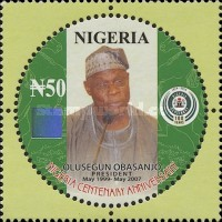 [The 100th Anniversary of Nigeria - Presidents, type ADN]