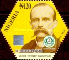 [The 100th Anniversary (2014) of Nigeria, type AEC]