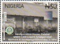 [The 100th Anniversary (2014) of Nigeria, type AED]