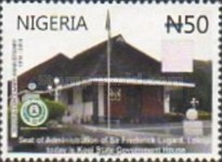 [The 100th Anniversary (2014) of Nigeria, type AEF]