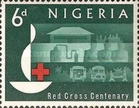 [The 100th Anniversary of Red Cross, type CR]