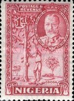 [King George V & Local Motifs, type D]