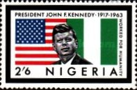 [President Kennedy Memorial Issue, type DB]