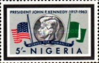 [President Kennedy Memorial Issue, type DC]