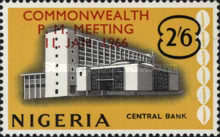 [Commonwealth Prime Ministers' Meeting, Lagos - Overprinted