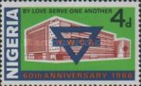 [The 60th Anniversary of Nigerian Y.W.C.A., type EO]