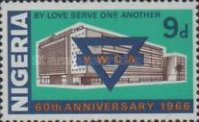 [The 60th Anniversary of Nigerian Y.W.C.A., type EO1]