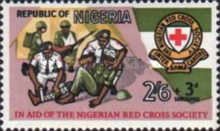 [Nigerian Red Cross, type EV]