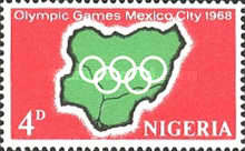 [Olympic Games - Mexico City, Mexico, type FJ]