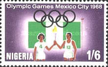 [Olympic Games - Mexico City, Mexico, type FK]