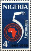 [The 5th Anniversary of African Development Bank, type FN]