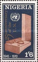 [The 25th Anniversary of United Nations, type GA]
