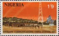 [Opening of Nigerian Earth Satellite Station, type GV]