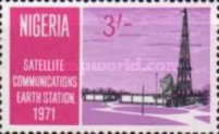 [Opening of Nigerian Earth Satellite Station, type GW]