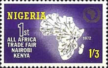 [All-Africa Trade Fair, type GY]