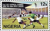 [The 2nd All-African Games, Lagos, type HI]