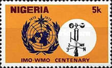 [The 100th Anniversary of World Meteorological Organization, type IG]