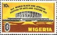 [The 2nd World Black and African Festival of Arts and Culture, Nigeria, type JF]