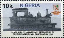 [The 25th Anniversary of Nigerian Railway Corporation, type LA]