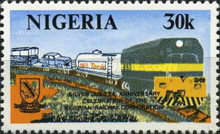 [The 25th Anniversary of Nigerian Railway Corporation, type LC]