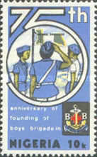 [The 100th Anniversary of of Boys' Brigade and the 75th Anniversary of Founding in Nigeria, type MZ]