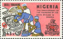 [The 100th Anniversary of of Boys' Brigade and the 75th Anniversary of Founding in Nigeria, type NB]