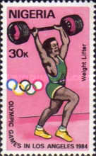 [Olympic Games - Los Angeles, USA, type NO]