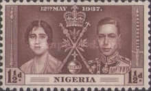 [King George VI & Queen Elizabeth, type O1]