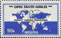 [The 25th Anniversary of Organization of Petroleum Exporting Countries (OPEC), type OG]