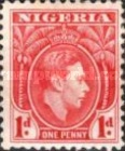 [King George VI, type P1]