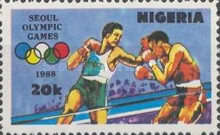 [Olympic Games - Seoul, South Korea, type QV]