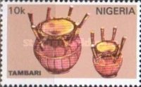 [Nigerian Musical Instruments, type RB]