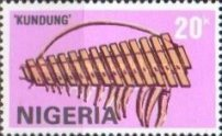 [Nigerian Musical Instruments, type RC]