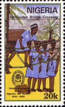 [The 70th Anniversary of Nigerian Girl Guides Association, type RK]